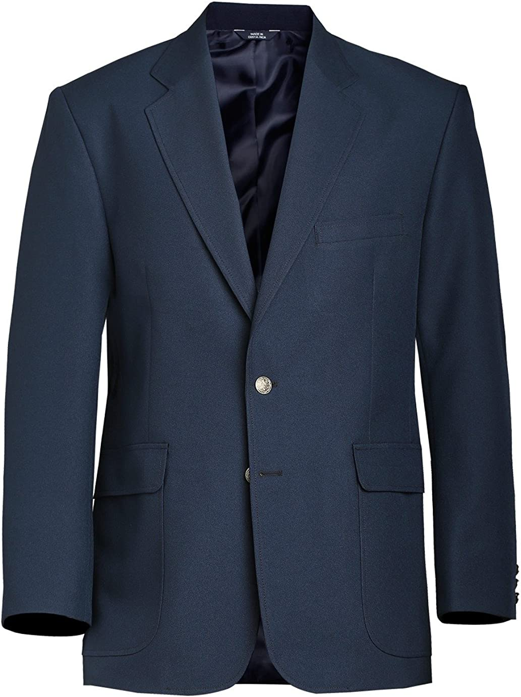 Ed Garments Animer and price revision High material Men's Classic Two Breasted Dar Button Single Blazer