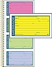 "Adams High Impact Phone Message Book, 2-Part Carbonless, 5-1/4"" x 11"", 200 Sets per Book (SC1153RB)"