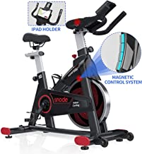 SNODE Indoor Cycling Bike – Stationary Spin Bike, Exercise Bike with Tablet Holder,..