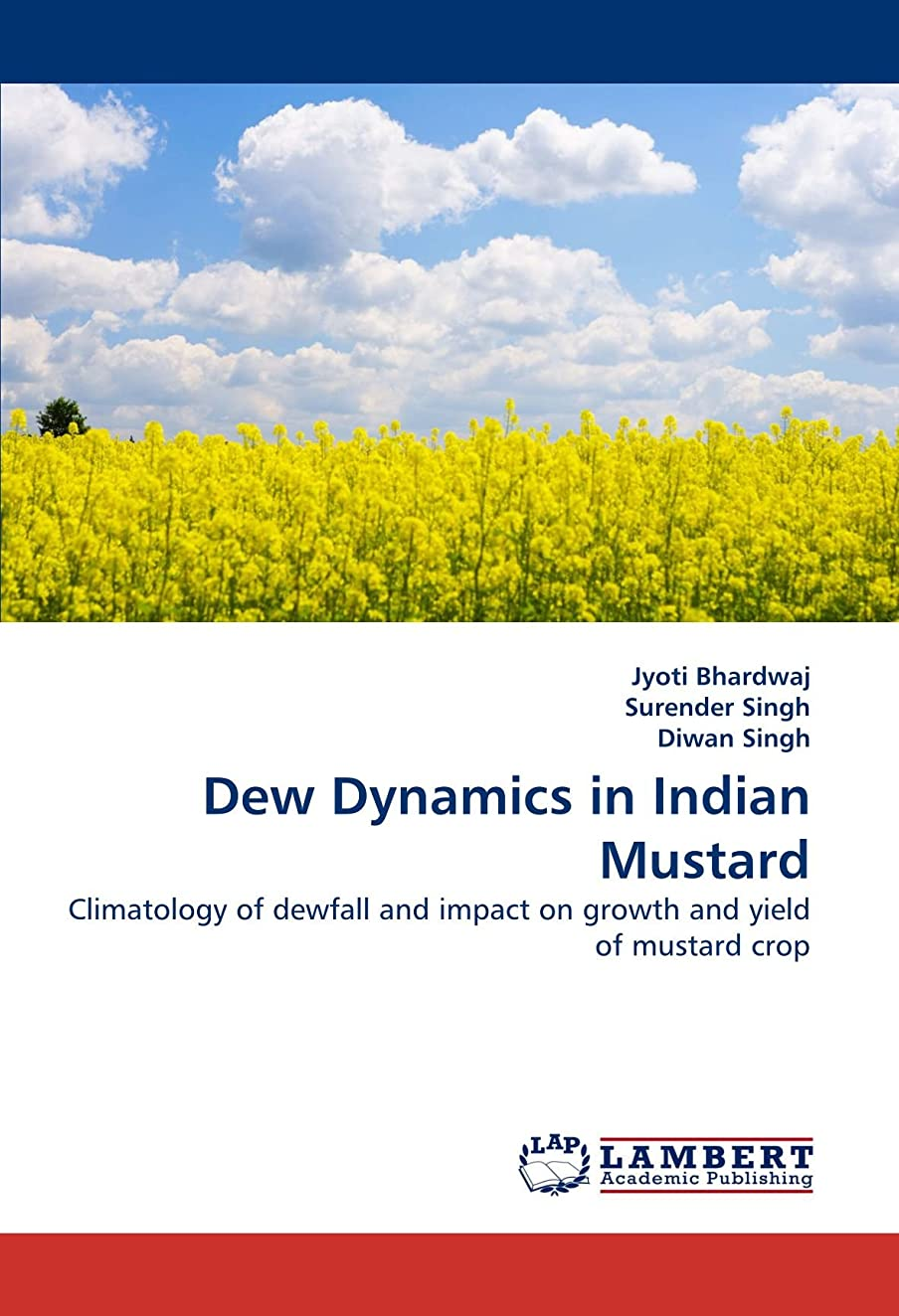 乗り出す民兵狼Dew Dynamics in Indian Mustard