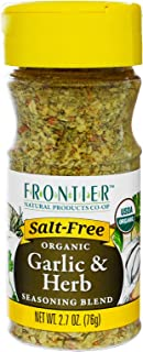 Frontier Natural Products - Organic Garlic & Herb Seasoning Blend - 2.7 oz.