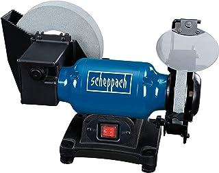 Scheppach 5903105903 våt-torr-kvarn BG200 W, 250 W, 230 V, blåsilversvart