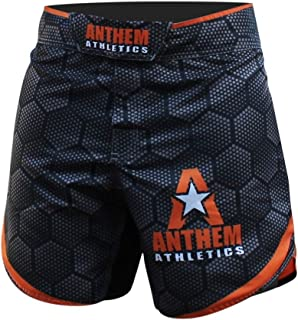 Anthem Athletics Defiance Kickboxing Short MMA Shorts - Muay Thai, BJJ, WOD, Cross-Training, OCR