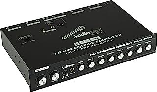 $56 » Audiopipe 7 Band Graphic Equalizer with Hi/Lo -9V Line Driver EQ-710HL