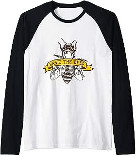 Save The Bee's Raglan Baseball Tee