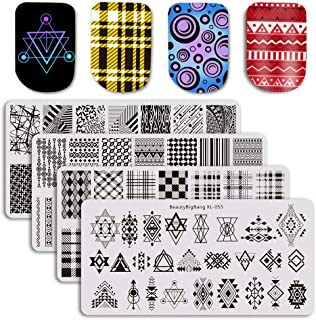 plaid stamping plate