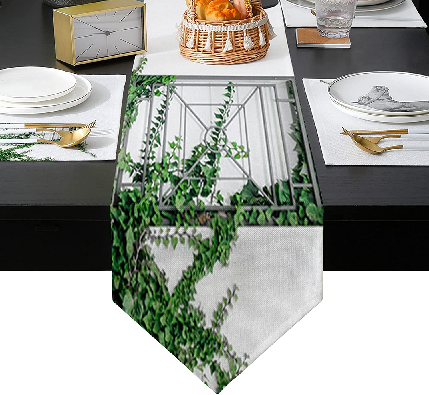 Arts Language Placemats Set of Inexpensive 6 and Spring new work one after another inches Table 72 Runner Long