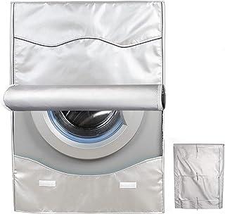 洗濯機カバー ドラム洗濯機専用 防水日焼け止め ドラム式洗濯機カバー 防水生地 (XL) (XL-4面)