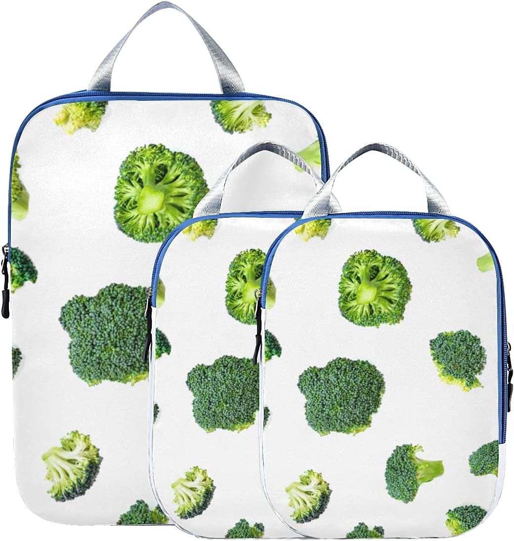 Travel Bags Brand new Organizer For Luggage Outlet SALE T Emerald Broccoli Green Fresh
