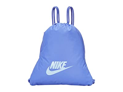 Nike Heritage Gym Sack 2.0 (Sapphire/Sapphire/Psychic Blue) Backpack Bags