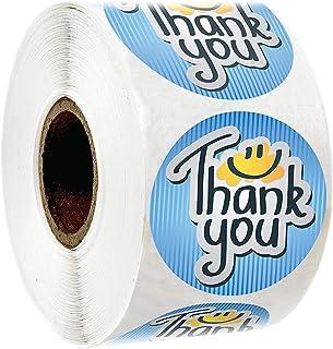 Oro Grazie per il supporto di My Small Business Stickers Kraft 1.5Rotondo 500 pezzi Etichetta autoadesiva Adesivi adesivi fatti a mano Etichette Rotolo Decor per regali fatti in casa
