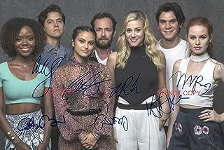 Riverdale CW TV Show cast Reprint Signed Autographed 12x18