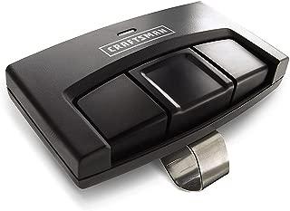 Craftsman 30498 Garage Door Opener Universal Remote Control Genuine Original Equipment Manufacturer (OEM) Part