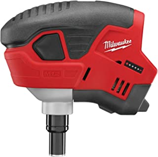 Milwaukee C12PN-0 M12 Naked Compact Palm Nailer without Batteries/ Charger