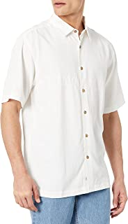 Quiksilver Men's Tahiti Palms 4 Button Up Floral Collared Shirt