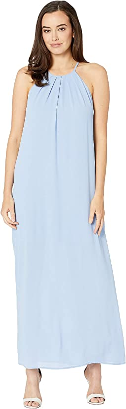 Scarlett High Neck Maxi Dress