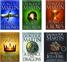 Game Of Thrones Ultimate Book Collection + The World Of Ice and Fire includes all 5 hardback books and the The Untold History of Westeros