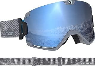 SALOMON Cosmic Sigma Goggles Mens Stone/Uni Sky Blue Lens