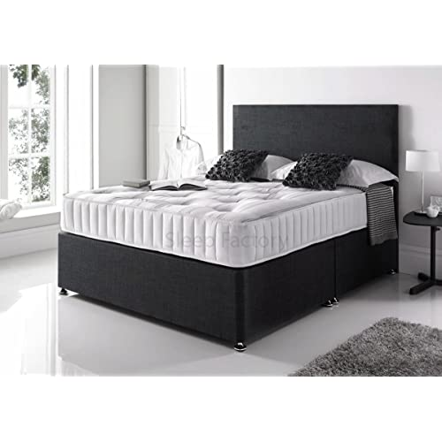 newest collection 8115f 50fc5 King Size Bed with Mattress: Amazon.co.uk