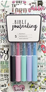 AMERICAN CRAFTS 5 Piece Pastel Precision Pens Bible Journaling