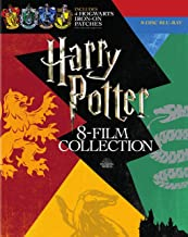Harry Potter: Complete 8-Film Collection With Collectible Hogwarts Iron-On Patches [Blu-ray]