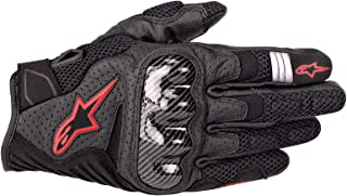 Alpinestars SMX-1 Air V2 Motorcycle Riding/Racing Glove (X-Large, Black/Fluorecent Red)