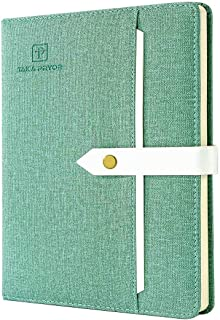 TAKA PRYOR Lined Notebook Journal 120 GSM Thick Paper Notebooks Use for Work Study Writing Travel or Business Medium 5.7 X...