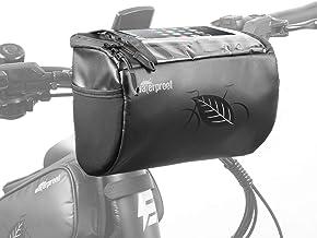 Eahora Electric Bike Handlebar Bag, Cycling Handlebar Storage Bag, Waterproof Bike Bag, Bicycle Front Bag for Bike Cycling Touring