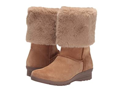 Taryn Rose Erica (Tawny Brown Suede) Women