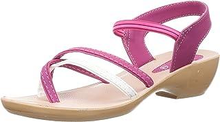 PARAGON Women's Pink Fashion Sandals-8 UK/India (42 EU) (PU50015LP)