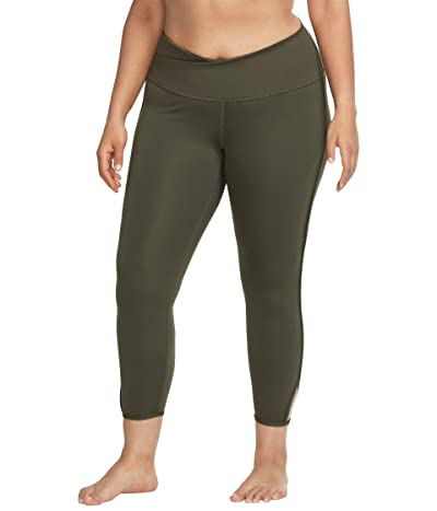 Nike Yoga Core Collection Cutout 7/8 Tights (Cargo Khaki/Medium Olive) Women