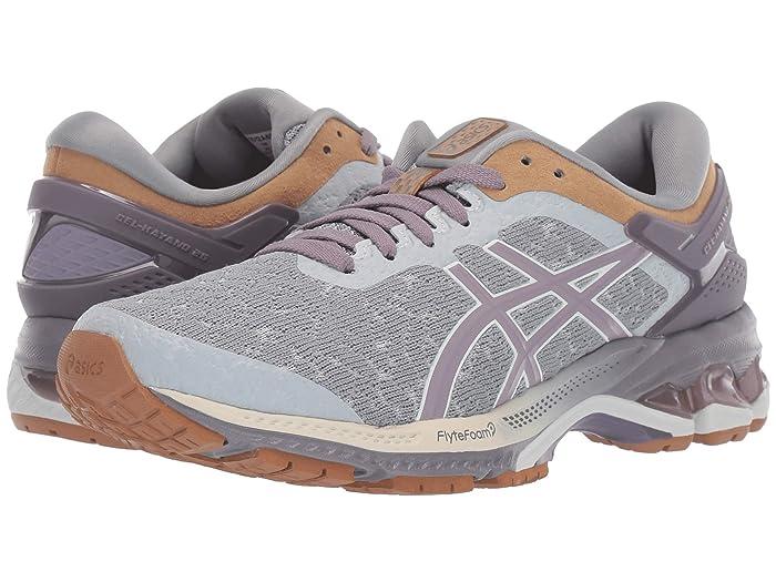 ASICS  GEL-Kayano 26 (Glacier Grey/Lavendar Grey) Womens Running Shoes