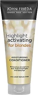 John Frieda Sheer Blonde Highlight Activating Moisturising Conditioner 250ml with Avocado Oil
