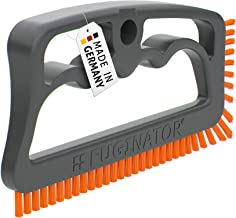 Fuginator Scrubbing Brush for Tile and Grout: Stiff Nylon Bristle Scrub Made Out of 100% Recycled Materials for Floor Join...