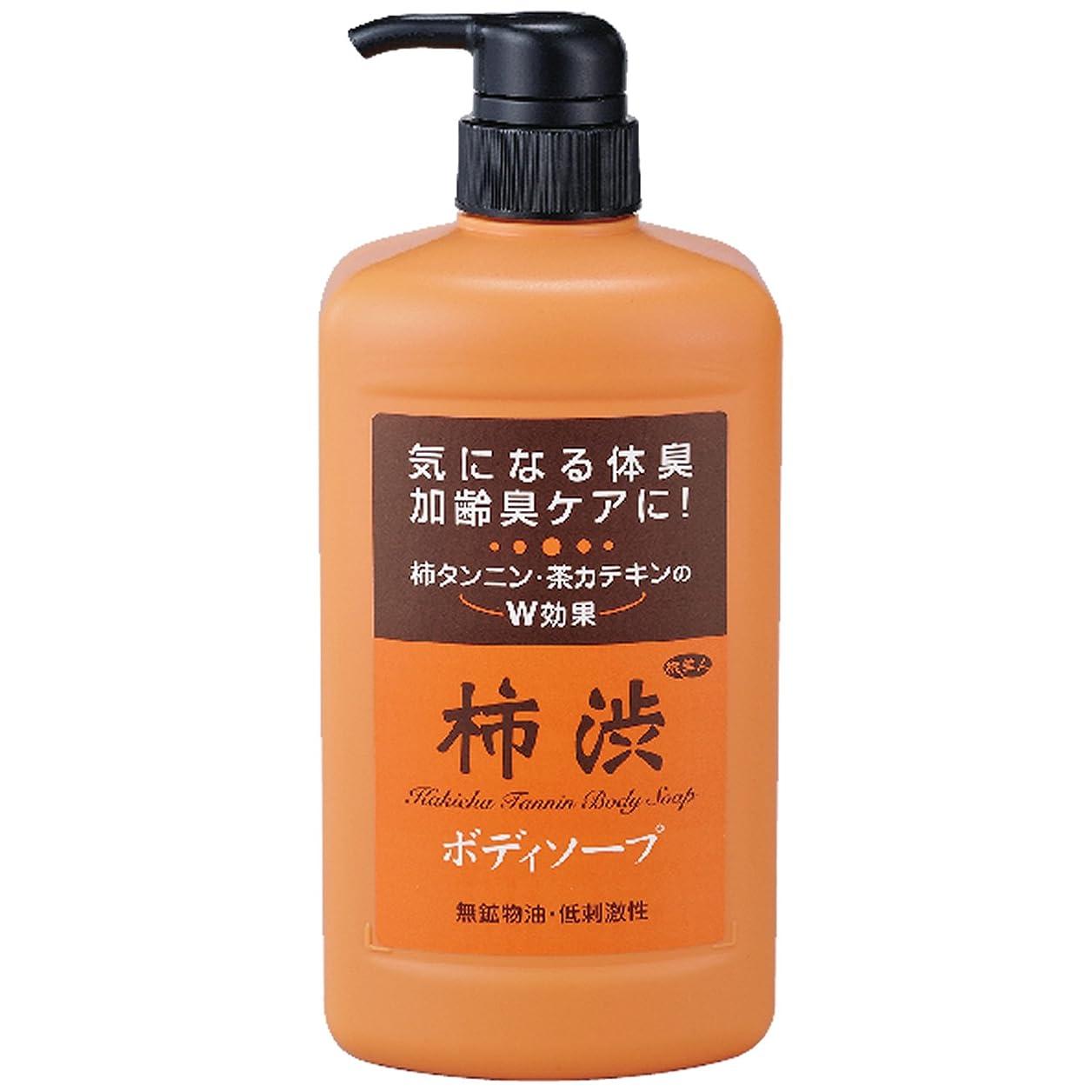 懐疑的受信動アズマ商事の 柿渋ボディソープ850ml