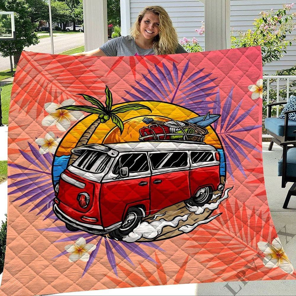 ALANCA Bus in Sunset Trees and Flowers Q Light Soft Ultra 100% quality warranty! Weight New mail order