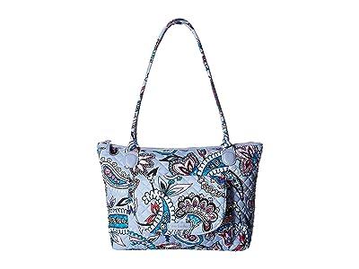 Vera Bradley Carson East/West Tote (Makani Paisley) Tote Handbags