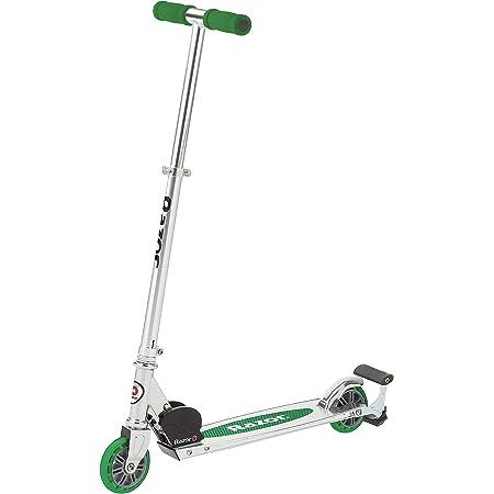 Rasoir une éclairée Wheel Kick Scooter-bleu