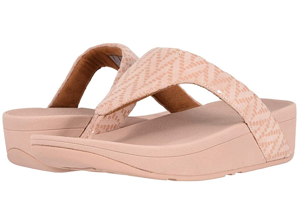 FitFlop Lottie Chevron (Oyster Pink) Women