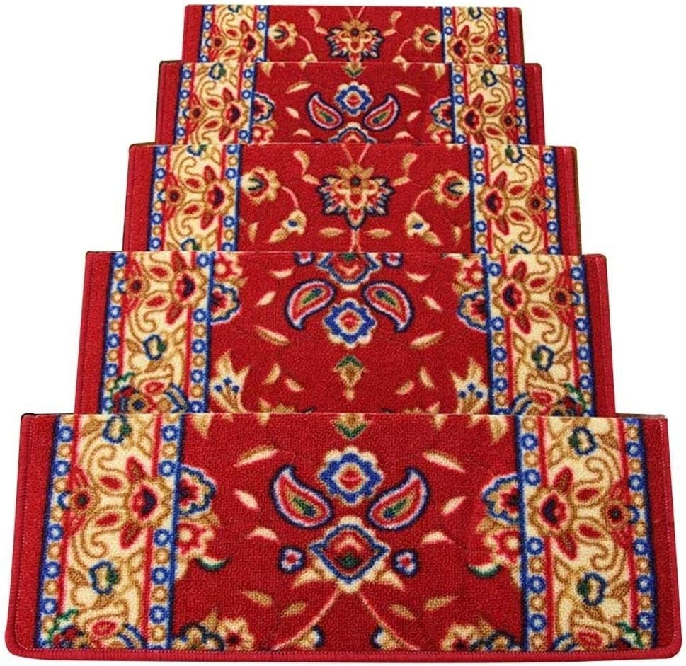 Stairs Treads Carpets For Super popular specialty store Steps Carp Stair Anti Rectangular Slip Max 85% OFF