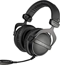 beyerdynamic DT 770 M 80 Ohm Over-Ear-Monitor Headphones in black, closed design, wired, volume control for drummers and s...