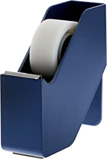 Bostitch Konnect Tape Dispenser with Premium Single-sided Tape, Sticks to Desk, Blue (KT-TAPE-BLUE)