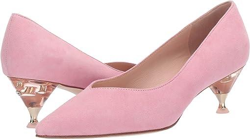 Rococo Pink Suede