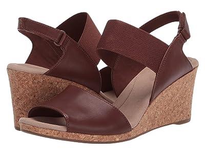 Clarks Lafley Lily (Tan Leather) Women