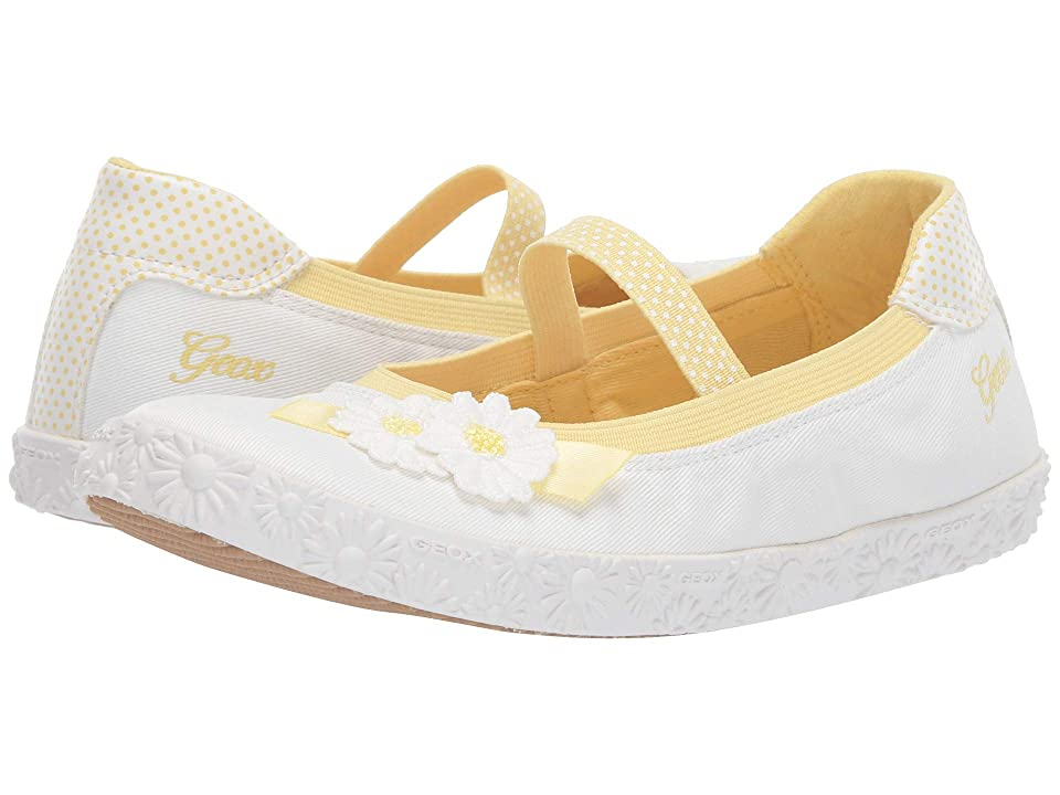 Geox Kids Kilwi Girl 46 (Little Kid/Big Kid) (White) Girl