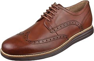 Cole Haan Men's Original Grand Shortwing Oxford, Woodbury/Java, 7.5 Medium US