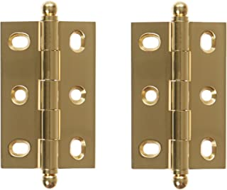 Deltana CHA2517U14 2-1/2-Inch x 1-11/16-Inch Adjustable Cabinet Hinge with Ball Tips