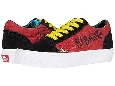 Vans Kids Vans X The Simpsons Sneaker Collection (Little Kid) ((The Simpsons) El Barto (Old Skool)) Kids Shoes