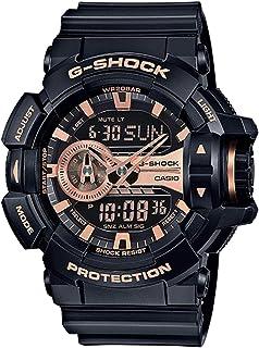 كاسيو ساعة رياضية للرجال رقمي بلاستيك مطاطي - GA-400GB-1A4