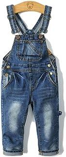 کودکان و نوجوانان Kidscool Big Bibs جلوی شلوار جین باریک نرم بطور کلی